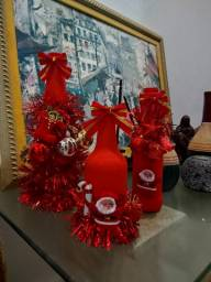Lindas garrafas decorativas para aniversarios,casamento,natale reveillon