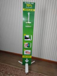 Display para Alcool Gel