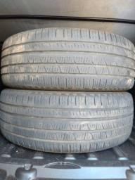 Vendo 02 pneus 225/60/18 FIAT TOURO  Pirelli Scorpions Gurupi-TO