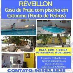 Casa com Piscina em Catuama (Ponta de Pedras)