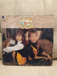 LP Vinil Sandy e Junior - Sábado a Noite. (2o álbum da dupla