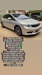 Honda civic lxr 2015 automatico