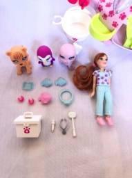 Helicóptero Pet Shop Polly Pocket