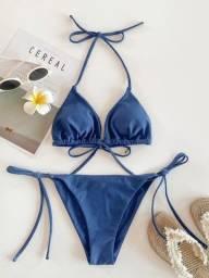 Título do anúncio: Biquíni azul marinho