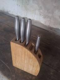 Título do anúncio: Faqueiro 4 peças Fontignac inox