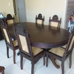 Conj. De Mesa e Cadeira (Rústico)