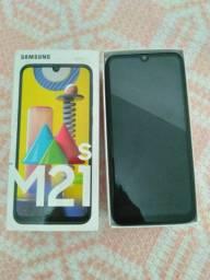 Samsung M21s Novo, com nota fiscal e garantia