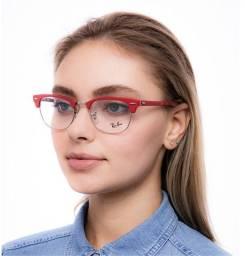 Oculos RayBan - Clubmaster 5154 Vermelho(novo na caixa)