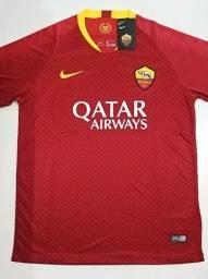 Camisa Roma Home Nike 18/19 - Tamanho: P
