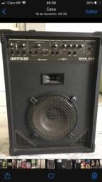 Caixa de som profissional wattsom Nprc 360