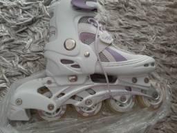 Título do anúncio: Vendo patins nunca usado.