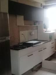 Cozinha compacta e cooktop