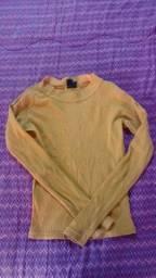Título do anúncio: Camisa de manga Amarela