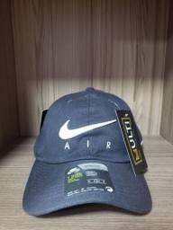 Boné Nike Air SB cinza strapback