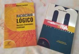Livro para concursos Matemática e RLM Cespe