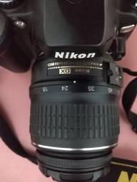Título do anúncio: Câmera fotográfica Nikon D40X
