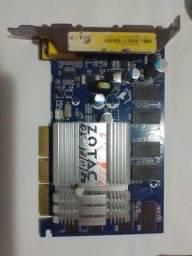 Placa De Vídeo Zotac Fx5500 256mb 128bit Agp