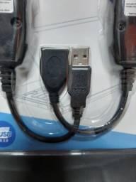 Extensor USB via Cabo rede RJ45
