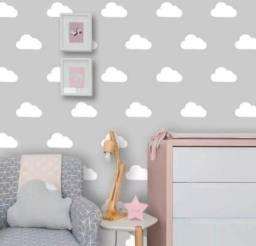 Título do anúncio: Adesivo decorativo nuvens branca