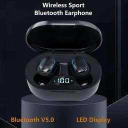 Fone sem fio Bluetooth