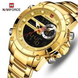 Relógio Masculino Naviforce 9163 Original em Promoção Irresistível