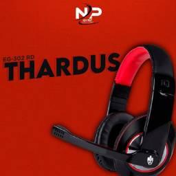 Headset Gamer Evolut Thardus Eg-302rd 12x S/Juros