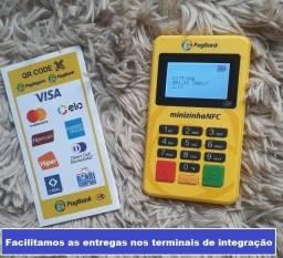Máquina de cartão minizinha nfc