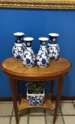 Coleção Porcelana Chinesa - Vasos pintados a mão