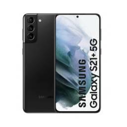 Samsung S21+ 256gb Preto novo zero lacrado com 1 ano de garantia