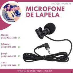 Microfone De Lapela Original Para Youtubers Celular Pc P2