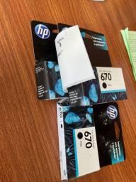 Cartucho HP 670 Preto