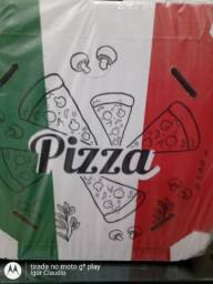 Caixa de pizza , 25cm ,30cm ,35cm,40cm,45cm .