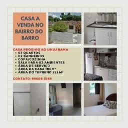 Título do anúncio: Vendo Casa no bairro do Barro