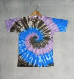 Camisetas Tie dye artesanais, exclusivas.