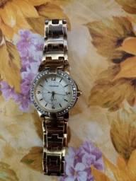 Título do anúncio: Original Relógio Technos em Dourado e Stras
