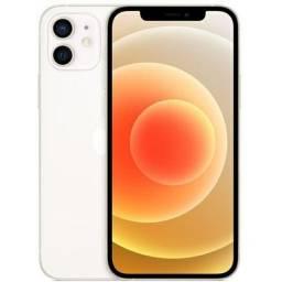 iPhone 12 branco 128gb. Câm. dupla 12MP
