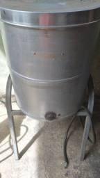 Fritadeira elétrica à óleo e água