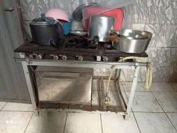Título do anúncio: Vendo 1 fogão industrial