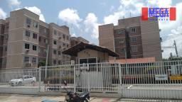 Título do anúncio: Apartamento com 2 dormitórios para alugar, 40 m² por R$ 390,00/mês - Tabapuá - Caucaia/CE