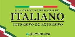 Aula de Italiano on line ou presencial