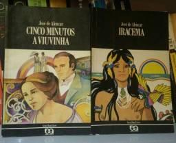 Kit de livros - Cinco Minutos A Viuvinha e Iracema