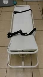 Maca Hospitalar, banco com cintos ( estava em uma Fiorino Ambulância )Particular