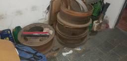 4 Rodas para pneu 1.100 R22 com camara