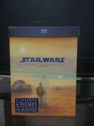 Box BluRay Star Wars Coleção Completa - 9 Discos Digistak RARO