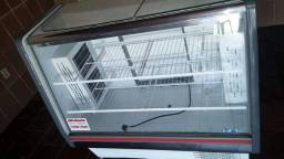 Balcão vitrine medindo 120 voltagem 220wts