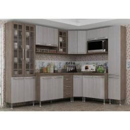 Cozinha compacta 8 peças kit duplo mery indekes