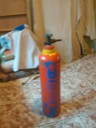 Cilindro de gás hélio