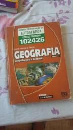 Livro de geografia 20 reais
