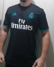 b5d79fdba2fc4 Camisa Real Madrid Away 17 18 s n° Adidas