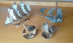 Barcos e Jangadas - Miniaturas